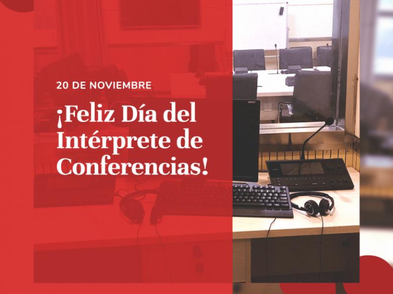 20 de noviembre: Día del Intérprete de Conferencias