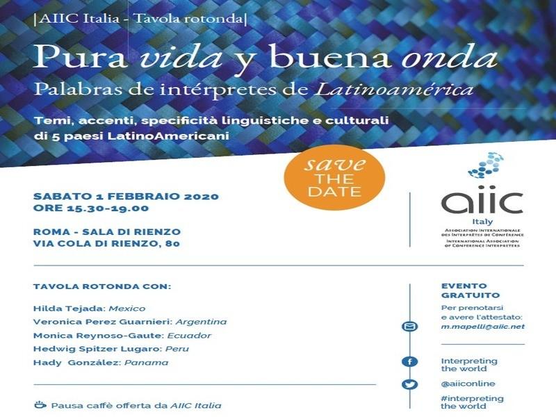 Pura vida y buena onda. Palabras de intérpretes de Latinoamérica