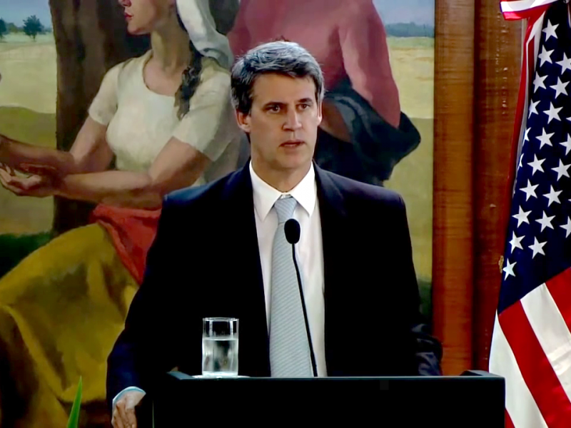 Joint statements by Minister Prat Gay and US Secretary of the Treasury, Jack Lew