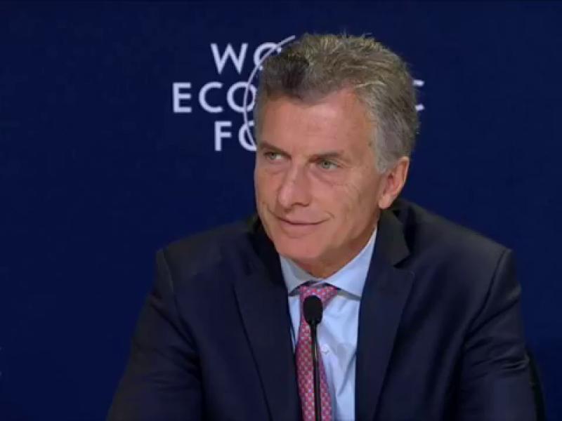Press conference by President Mauricio Macri at the World Economic Forum