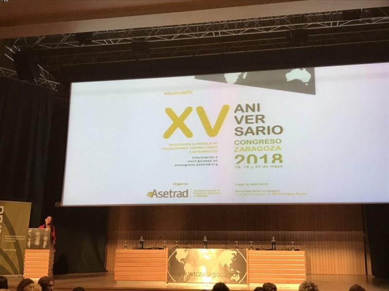 ASETRAD - Congress XV Anniversary 2018